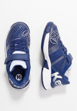 Kempa - ATTACK CONTENDER JUNIOR CAUTION - Zapatillas de balonmano - midnight blue/white