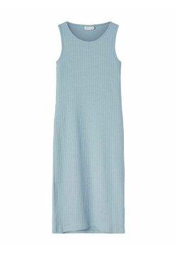 Name it - GERIPPT - Maxikleid - dusty blue