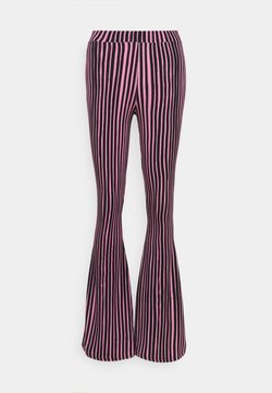 Stieglitz - Stoffhose - pink/black