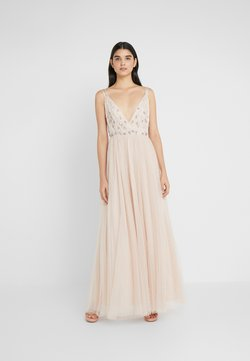 Needle & Thread - NEVE EMBELLISHED BODICE DRESS - Ballkleid - pearl rose