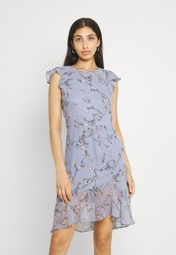 Nly by Nelly - RUCHED FLOUNCE DRESS - Juhlamekko - multi-coloured