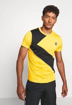 Fila - LOUIS - T-Shirt print - yellow fusion