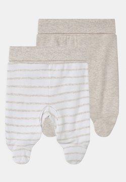 Jacky Baby - 2 PACK UNISEX - Pantaloni - white/beige