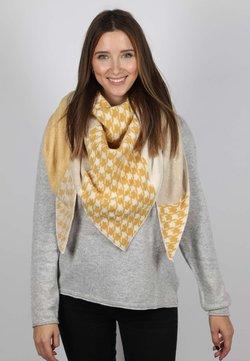 Zwillingsherz - SELENA - Schal - beige gelb