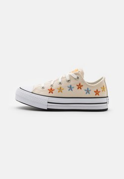 Converse - CHUCK TAYLOR ALL STAR EVA LIFT - Sneakers - natural ivory/white/black