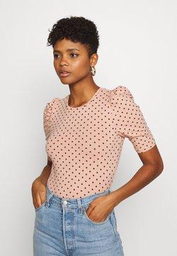 ONLY - ONLMAYA LIVE LOVE PUFF - T-Shirt print - misty rose/night sky dots