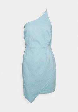 NA-KD - MINI DRESS - Cocktailkleid/festliches Kleid - dusty blue