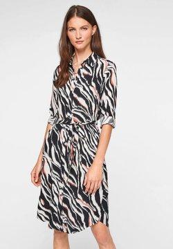 s.Oliver - Freizeitkleid - black zebra aop