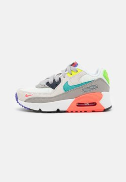 Nike Sportswear - AIR MAX 90 EOI UNISEX - Trainers - pearl grey/sport turquoise/summit white/black