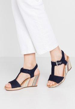 Gabor Comfort - Sandales à plateforme - bluette/multicolor