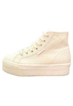 Superga - Sneakers alte - total beige raw