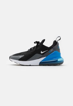 Nike Sportswear - AIR MAX 270 - Sneakersy niskie - black/metallic silver/light photo blue/dark grey