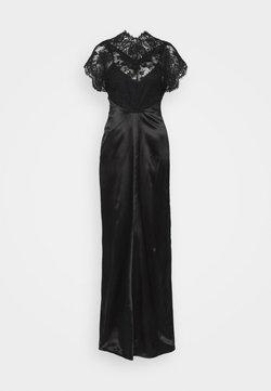 Victoria Beckham - LACE TOP FLOORLENGTH DRESS 2-IN-1 - Iltapuku - black