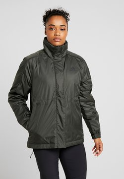adidas Performance - INSULATED OUTDOOR FILLED THIN JACKET - Vinterjacka - legend earth