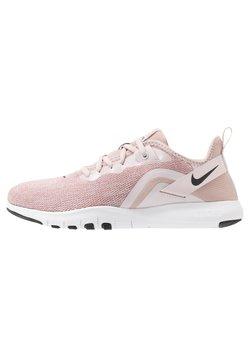 Nike Performance - FLEX TRAINER 9 - Trainings-/Fitnessschuh - stone mauve/black/barely rose/metallic red bronze/metallic silver/white