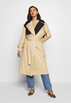 Who What Wear - Trenchcoat - tan/black