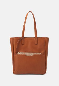 Even&Odd - SET - Tote bag - cognac