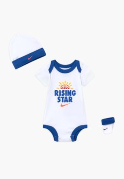 Nike Sportswear - RISING STAR HAT BODYSUIT BOOTIE SET - Bonnet - white