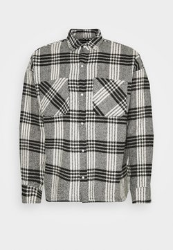 Good For Nothing - BUTTONED HEAVY CHECK RELAXED - Leichte Jacke - white
