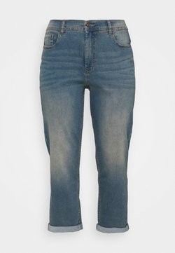 CAPSULE by Simply Be - BOYFRIEND - Jeans Relaxed Fit - light vintage blue