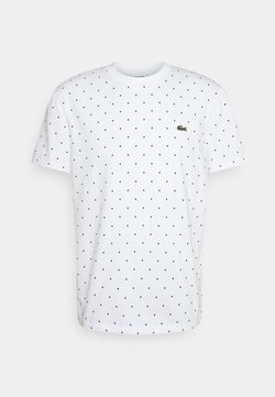 Lacoste - T-Shirt print - white