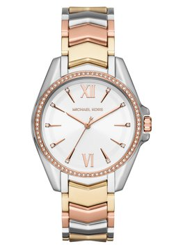 Michael Kors - WHITNEY - Montre - silver-coloured/gold-coloured