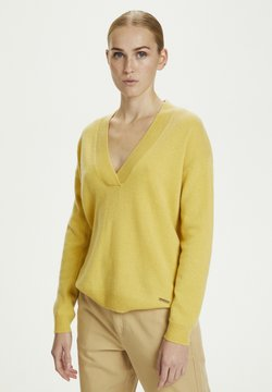 Karen by Simonsen - Neule - yellow