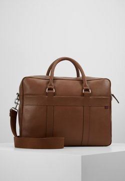 Pier One - LEATHER - Portfölj - brown