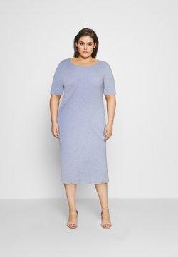 NU-IN - HALF SLEEVE DRESS - Shift dress - blue