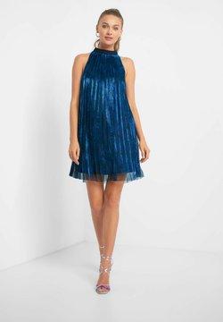 ORSAY - MIT PLISSEEFALTEN - Cocktailkleid/festliches Kleid - petrolblau