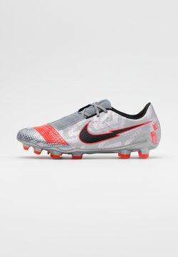 Nike Performance - Fußballschuh Nocken - metallic bomber grey/black/particle grey