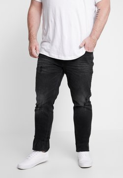 Jack & Jones - JJITIM JJORIGINAL - Jeans Straight Leg - black denim