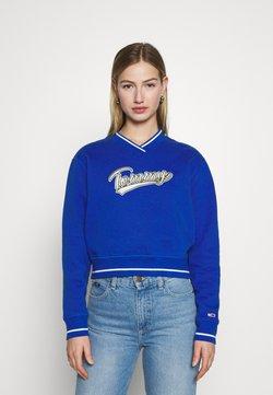 Tommy Jeans - VNECK - Sweatshirt - providence blue