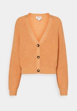 Monki - ZETA CARDIGAN - Gilet - dusty light orange