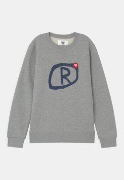 Wood Wood - ROD UNISEX - Sweater - grey melange