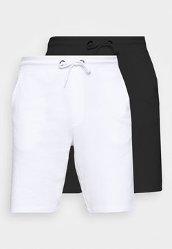 Only & Sons - ONSNEIL 2 PACK - Szorty - white/black