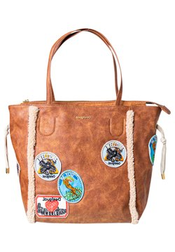 Desigual - Shopping bag - dark beige