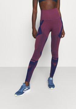 adidas Performance - Tights - victory crimson/victory blue