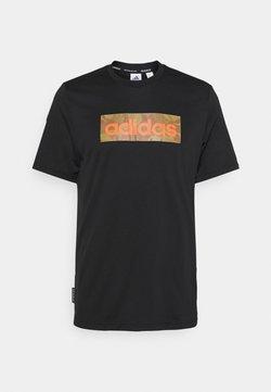 adidas Performance - Camiseta estampada - black