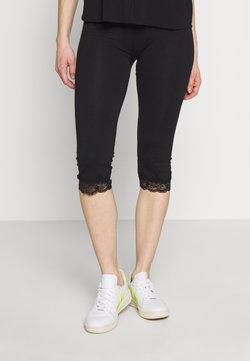Anna Field - Capri Leggings with Lace - Legging -  black