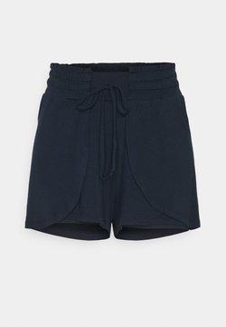 Cotton On Body - DOUBLE LAYER PETAL HEM SHORT - Short de sport - navy