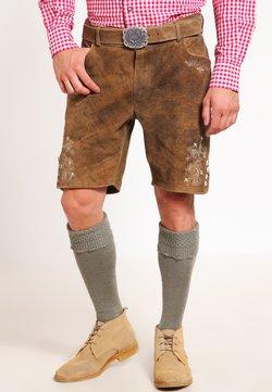 Stockerpoint - CORBI - Pantalon en cuir - havanna