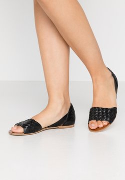 Anna Field - LEATHER - Riemensandalette - black