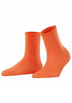 FALKE - POINTELLE - Socken - coral rose