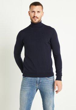 J.LINDEBERG - LYD - Stickad tröja - navy
