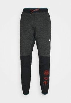 Nike Performance - ELITE PANT - Jogginghose - black/reflective silver