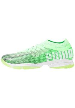 Puma - ADRENALITE 1.1 - Zapatillas de balonmano - elektro green/black/white