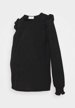 MAMALICIOUS - MLENISE  - Camiseta de manga larga - black