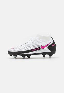 Nike Performance - PHANTOM GT ACADEMY DF SGPRO AC - Fußballschuh Stollen - white/pink blast/black