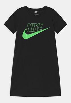 Nike Sportswear - FUTURA  - Jerseykleid - black/vapor green